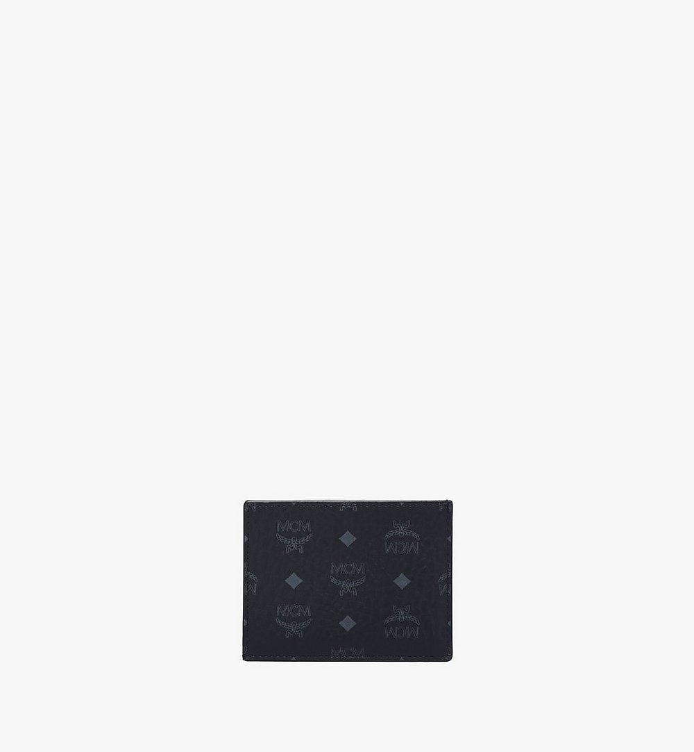 MCM Card Case in Visetos Original Cognac MXAAAVI02BK001 Alternate View 1