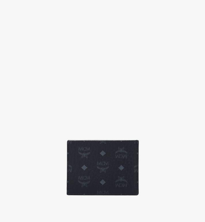 MCM 비세토스 오리지널 카드 케이스 Black MXAAAVI02BK001 Alternate View 3