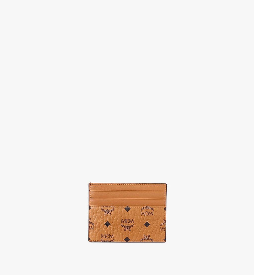 MCM Kartenetui in Visetos Original Gold MXAAAVI02CO001 Noch mehr sehen 1