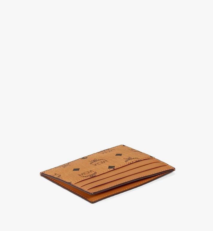 MCM Card Case in Visetos Original Cognac MXAAAVI02CO001 Alternate View 2
