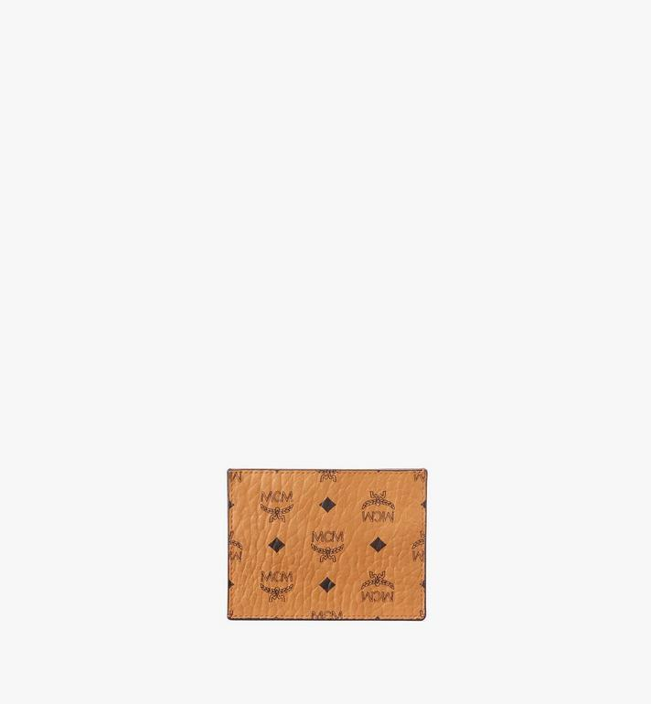 MCM 비세토스 오리지널 카드 케이스 Cognac MXAAAVI02CO001 Alternate View 3