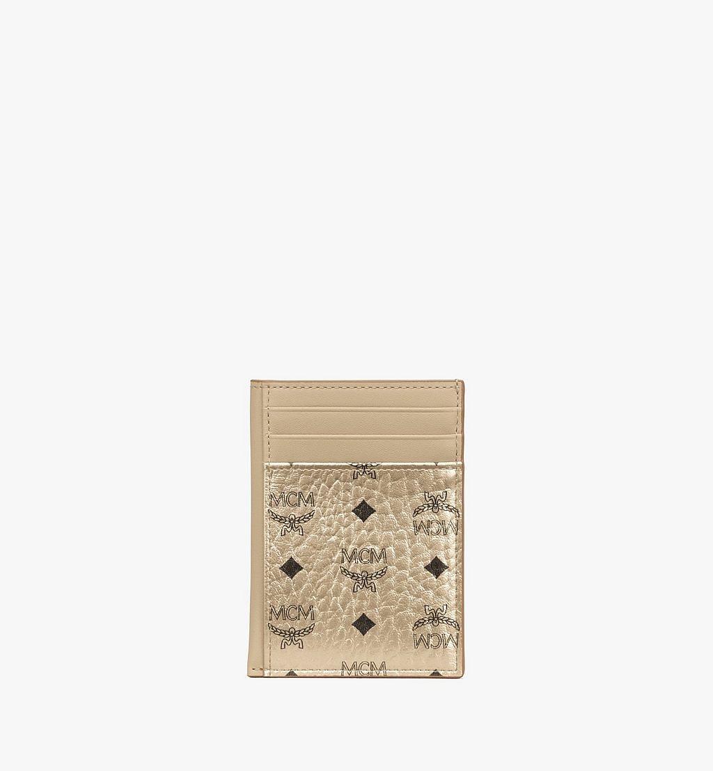 MCM Hochformatiges Kartenetui in Visetos Original Cognac MXAAAVI03T1001 Noch mehr sehen 1