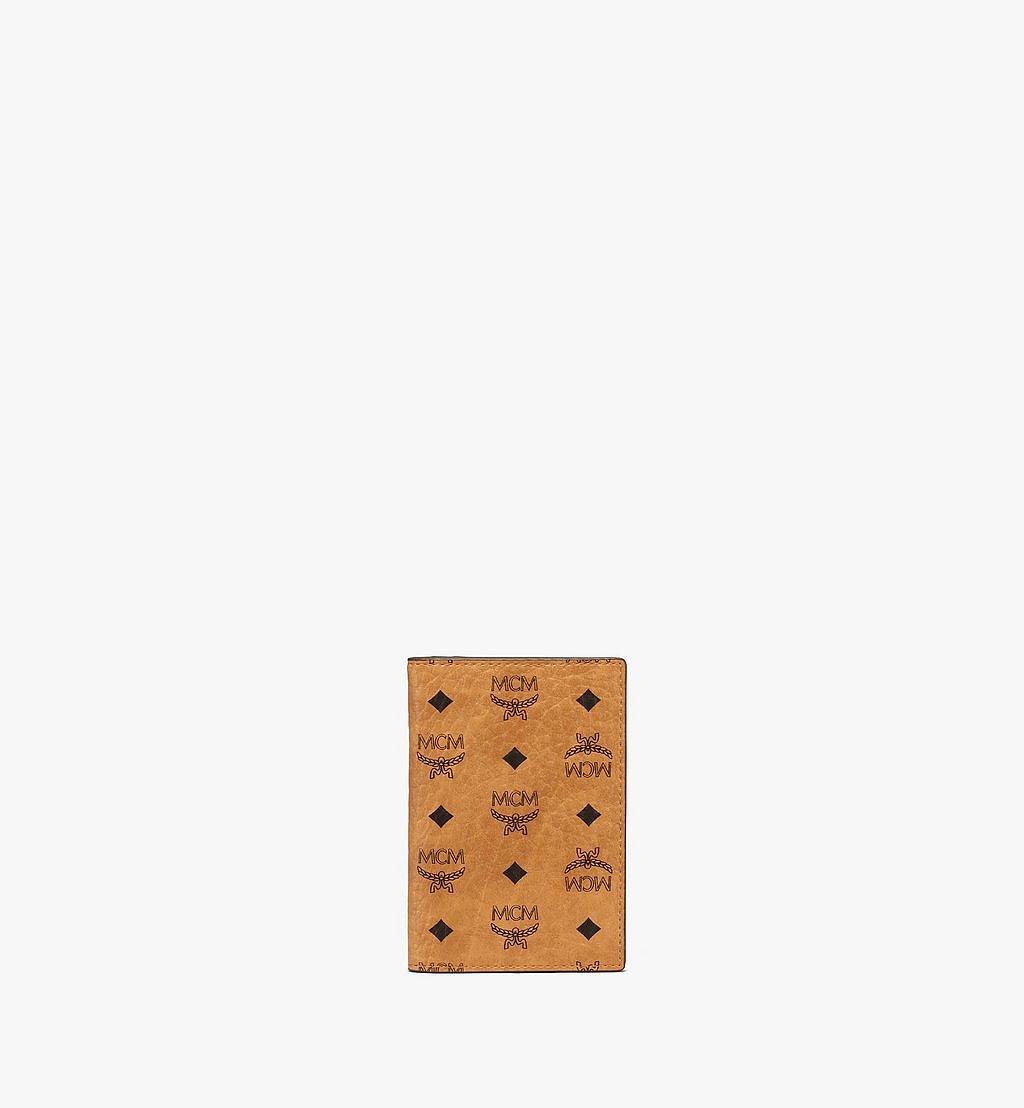 MCM Gefaltete Brieftasche für Karten in Visetos Original Black MXAAAVI04CO001 Noch mehr sehen 1