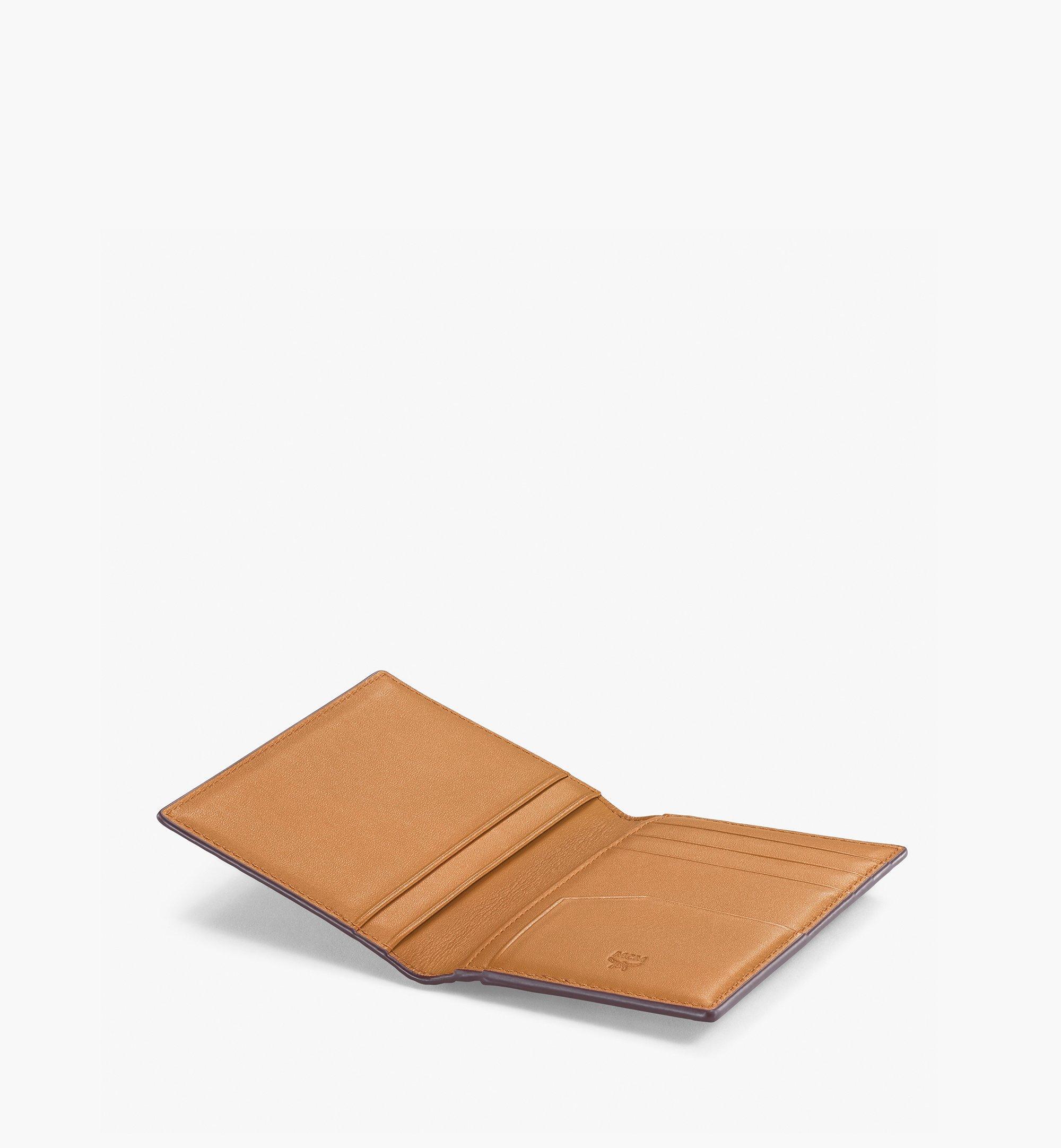 MCM Gefaltete Brieftasche für Karten in Visetos Original Cognac MXAAAVI04CO001 Noch mehr sehen 1