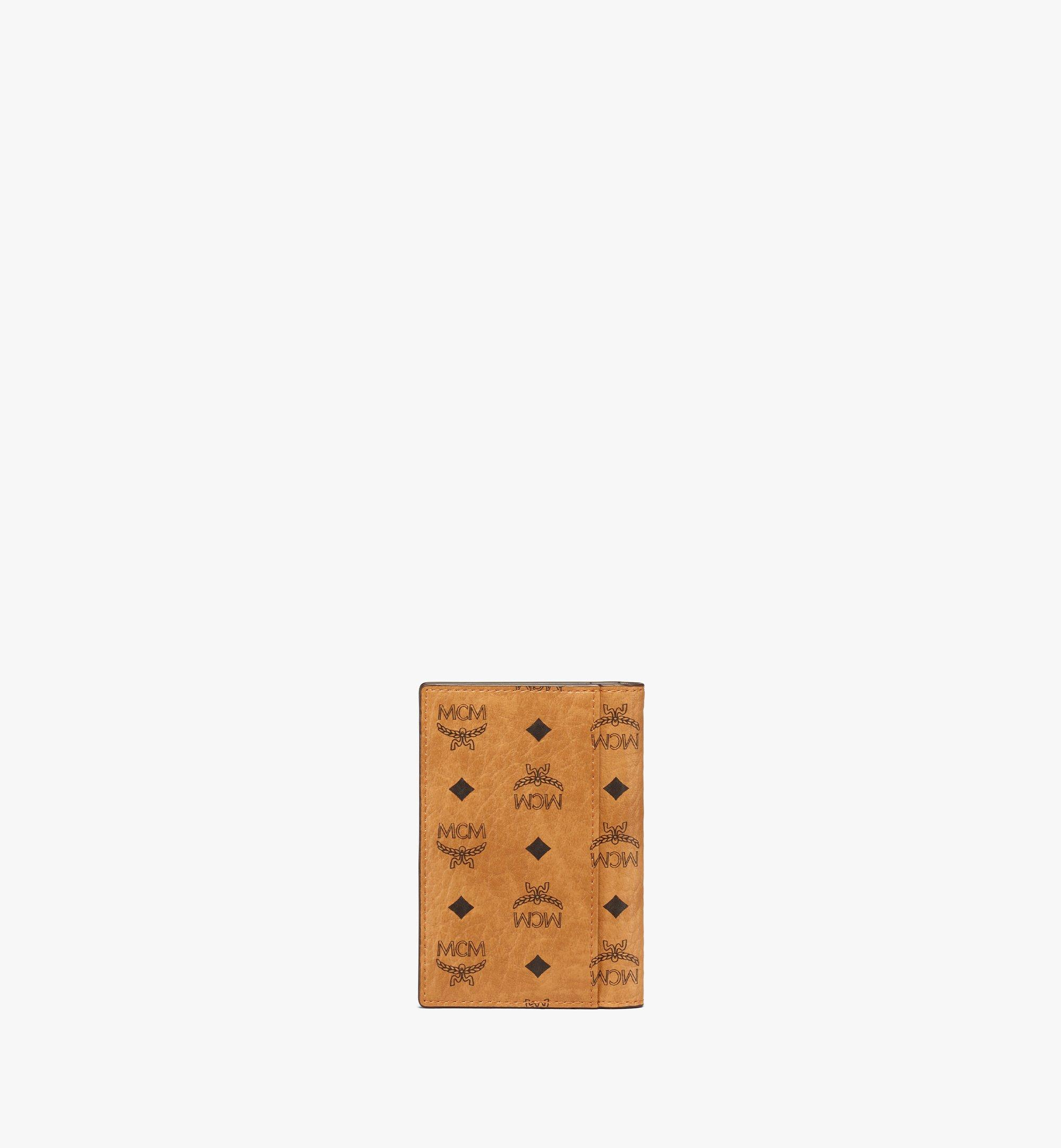 MCM Gefaltete Brieftasche für Karten in Visetos Original Cognac MXAAAVI04CO001 Noch mehr sehen 2