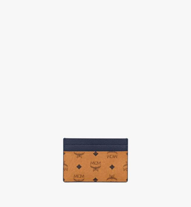 MCM Card Case in Visetos Leather Mix Alternate View