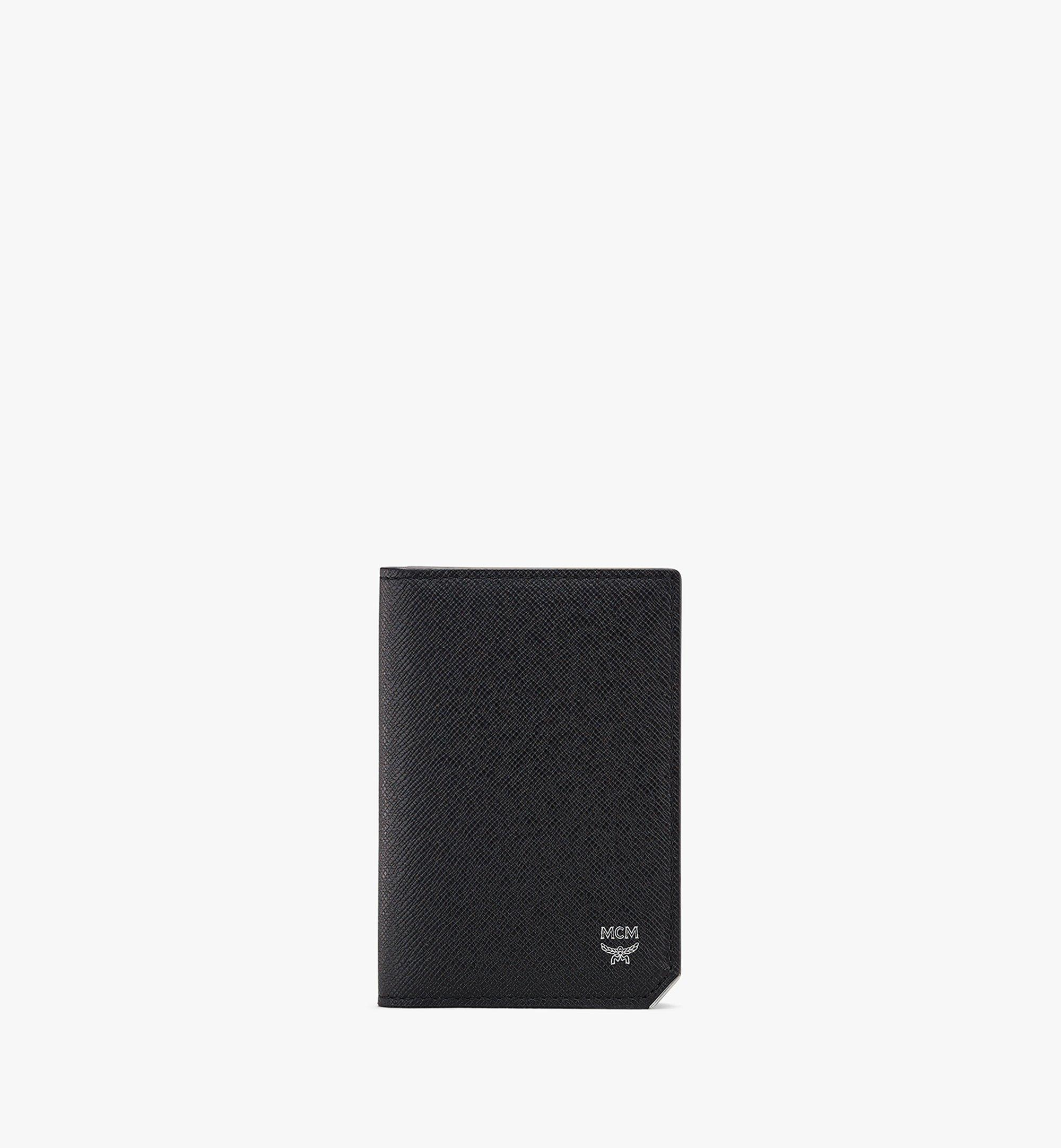 MCM New Bric Bifold Card Wallet Black MXAASLL03BK001 Alternate View 1