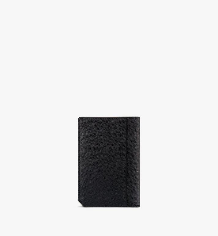 MCM New Bric Bifold Card Wallet Black MXAASLL03BK001 Alternate View 2