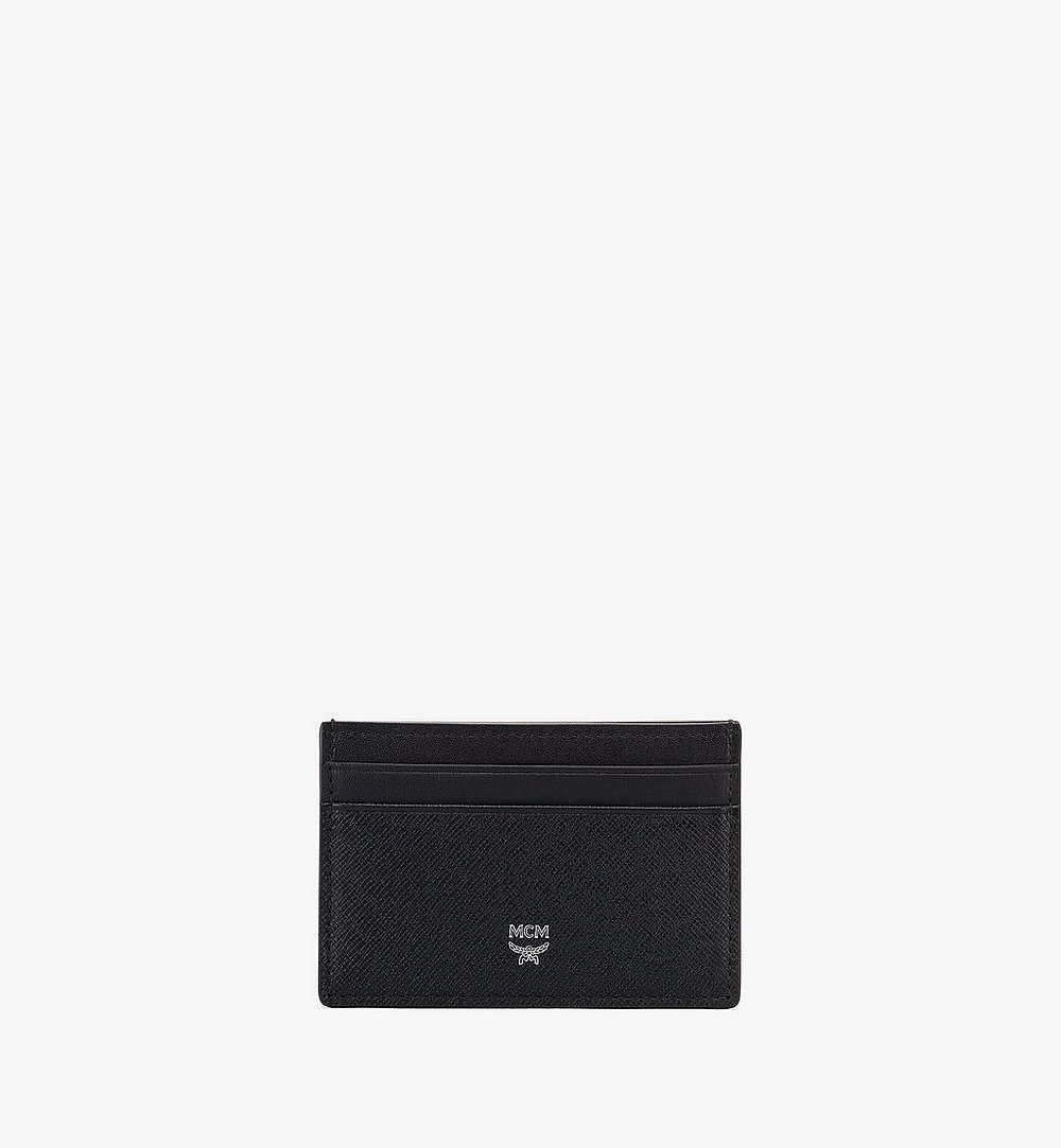 MCM New Bric Card Case Black MXAASLL04BK001 Alternate View 1