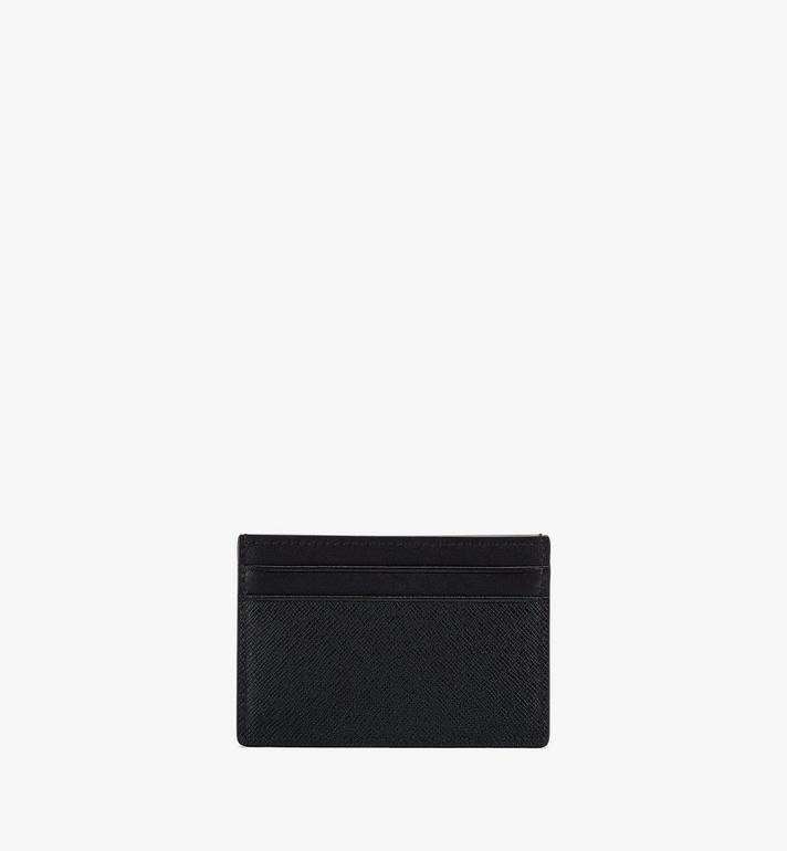 MCM New Bric Card Case Black MXAASLL04BK001 Alternate View 2