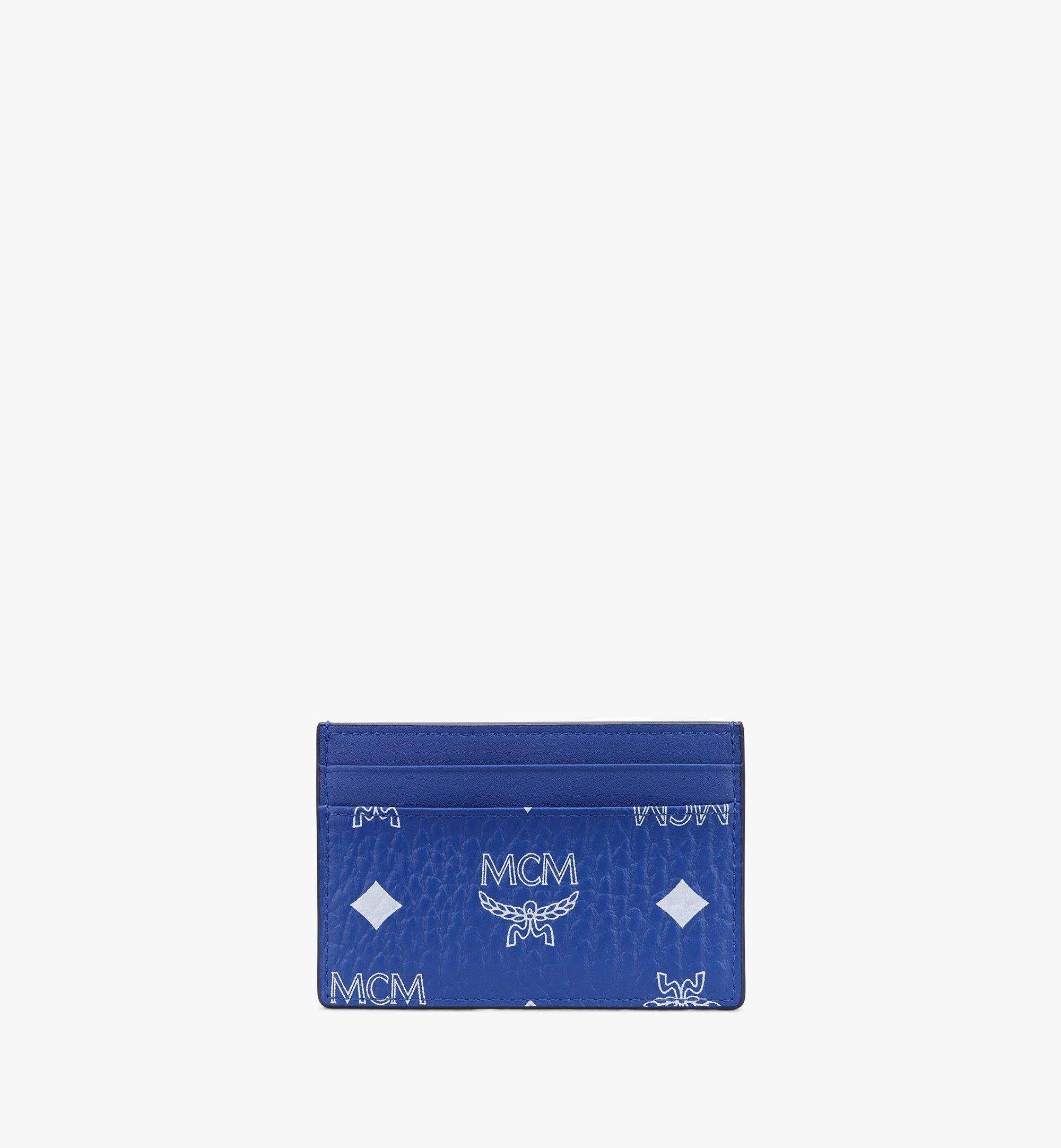 MCM 비세토스 카드 케이스 Blue MXAASVI01H1001 Alternate View 1