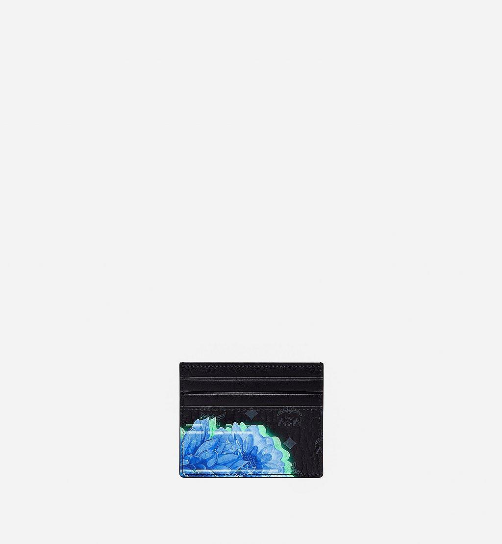 MCM Kartenetui in Tech Flower Visetos Black MXABSSX02BK001 Noch mehr sehen 2
