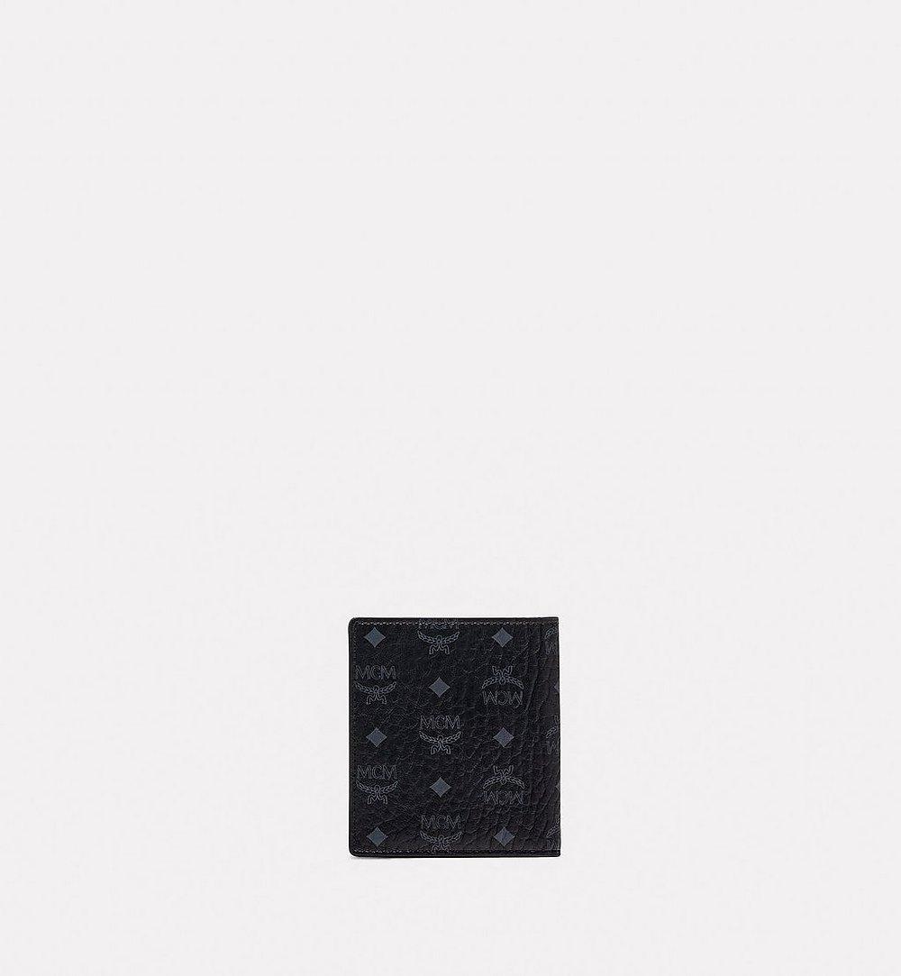 MCM Gefaltete Brieftasche für Karten in Visetos Original  MXABSVI01BK001 Noch mehr sehen 2