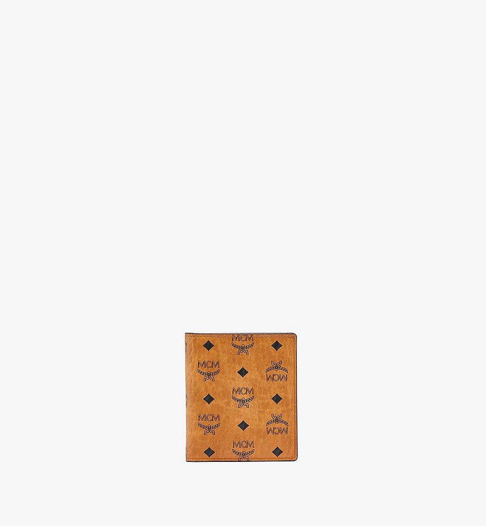 MCM 〈ヴィセトス オリジナル〉二つ折り カードウォレット Cognac MXABSVI01CO001 ほかの角度から見る 1