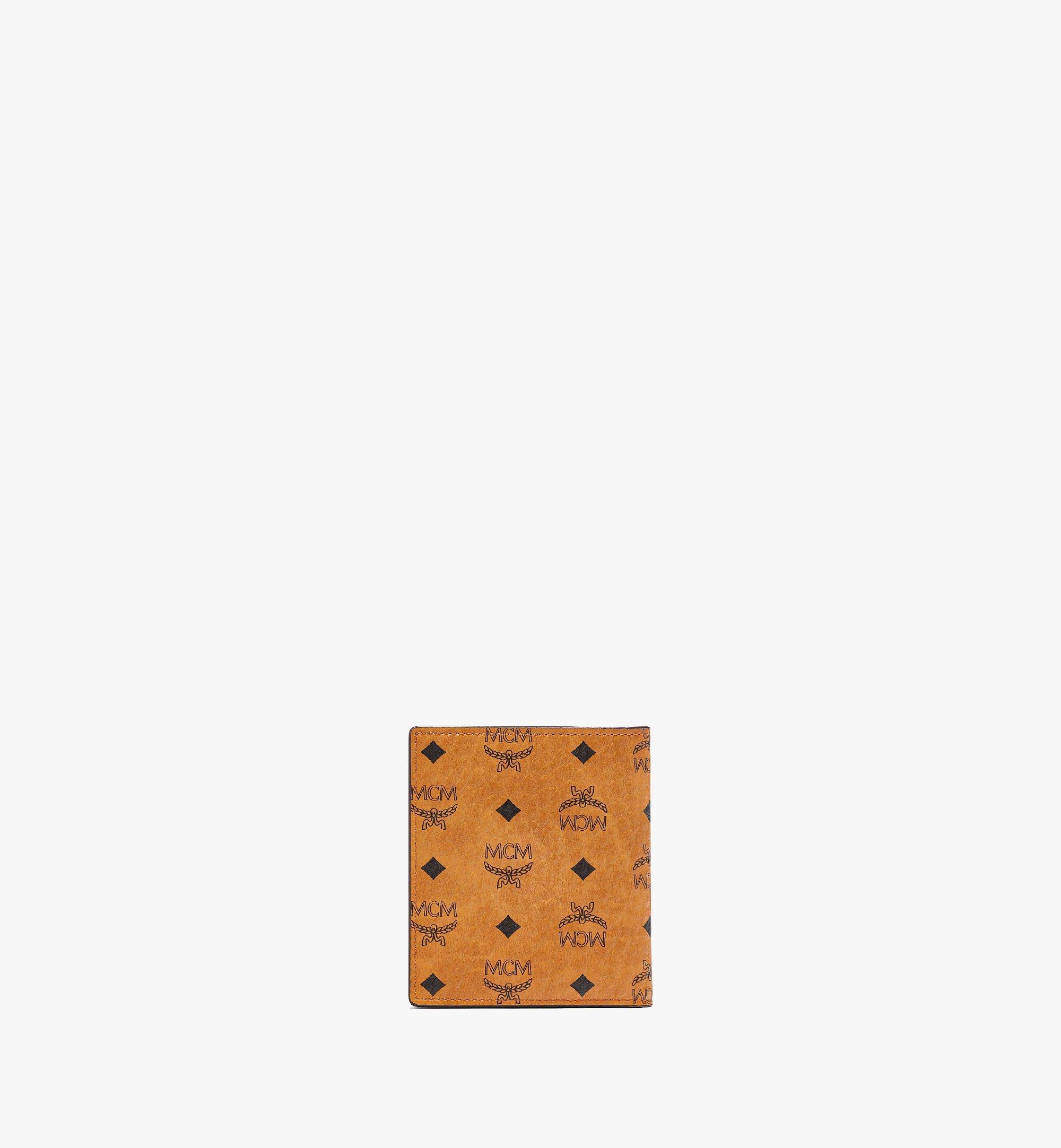 MCM Gefaltete Brieftasche für Karten in Visetos Original Cognac MXABSVI01CO001 Noch mehr sehen 2