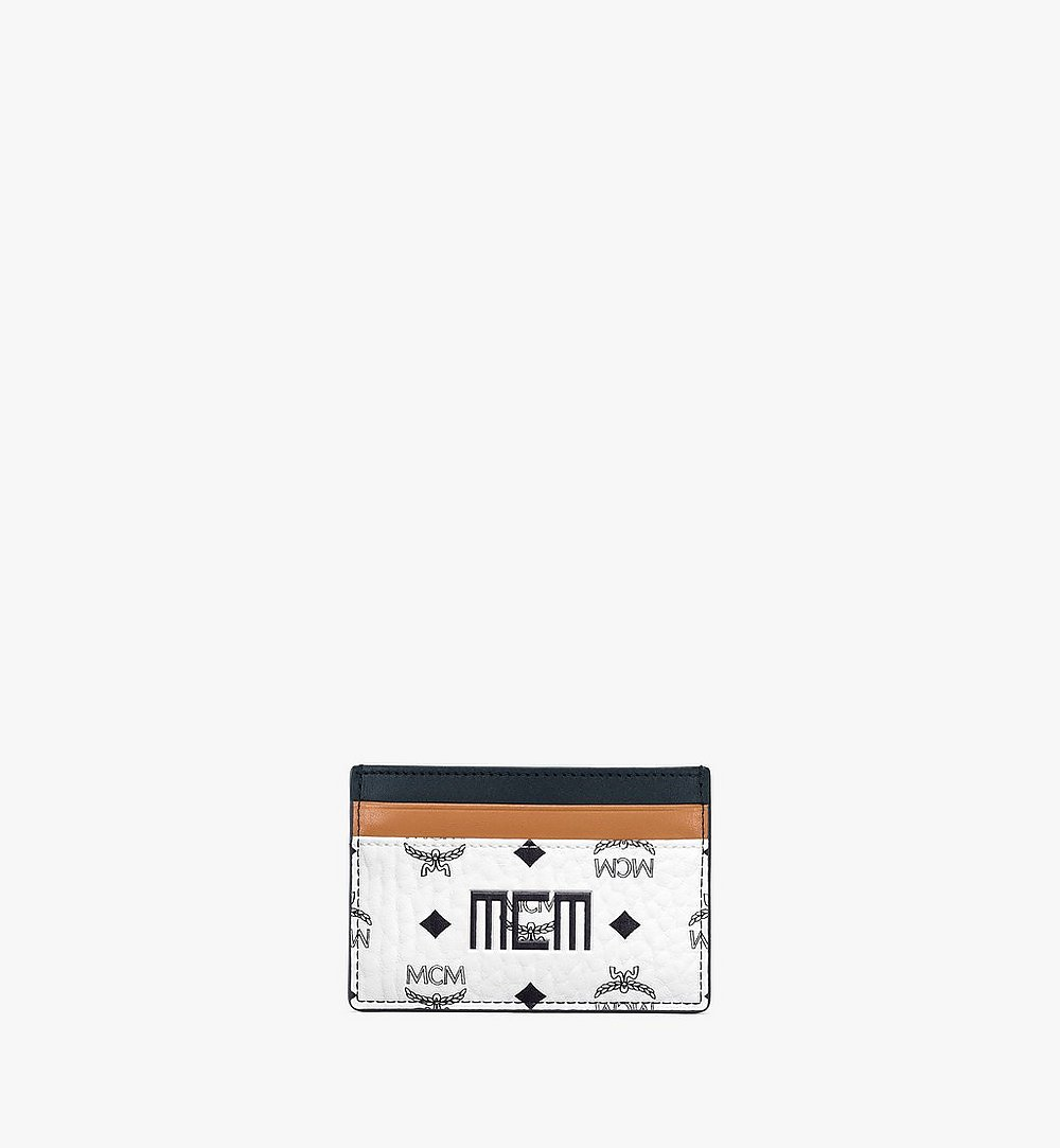 MCM カードケース - ヴィセトス ミックス White MXABSVI02WT001 ほかの角度から見る 1