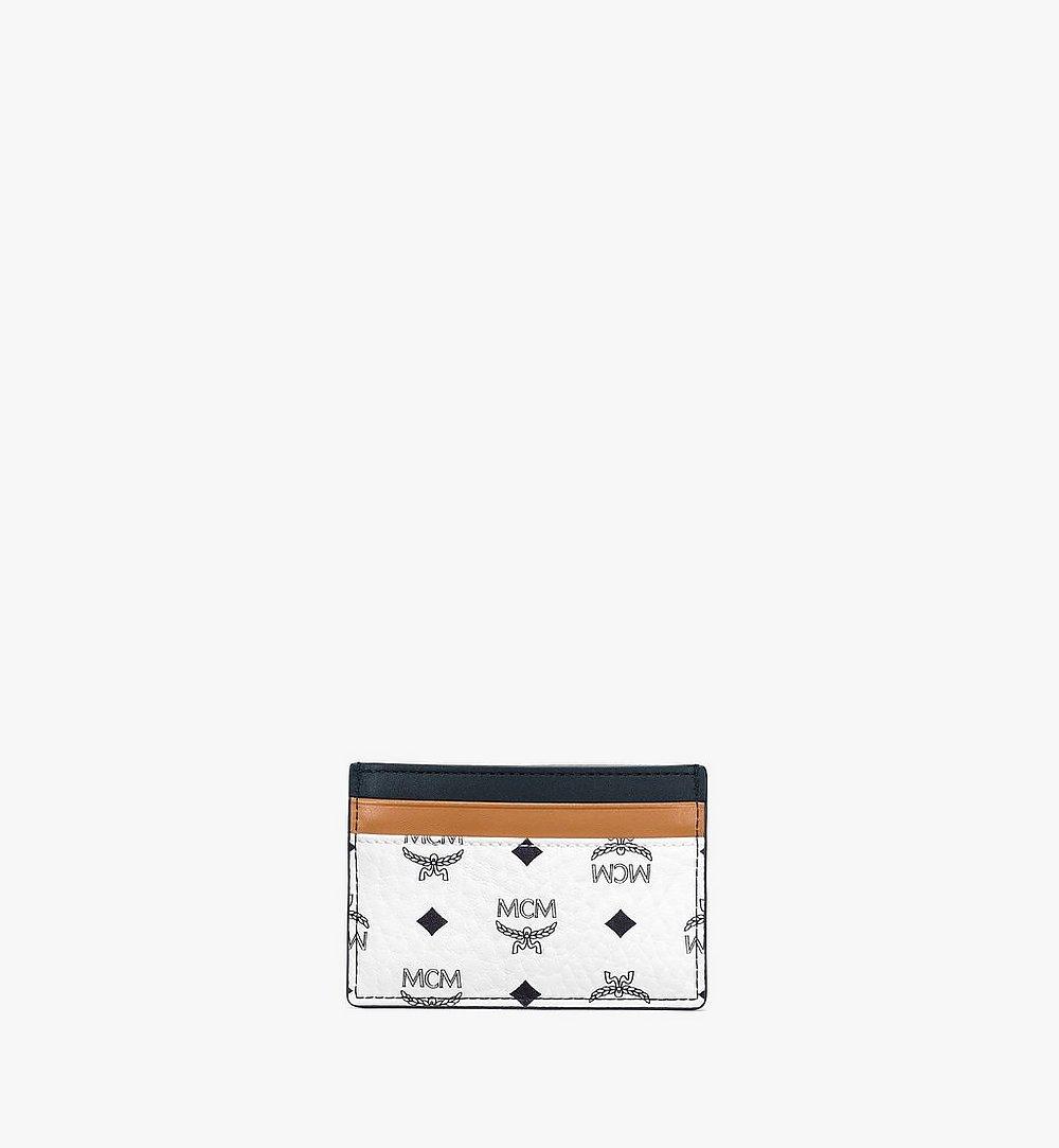 MCM カードケース - ヴィセトス ミックス White MXABSVI02WT001 ほかの角度から見る 2