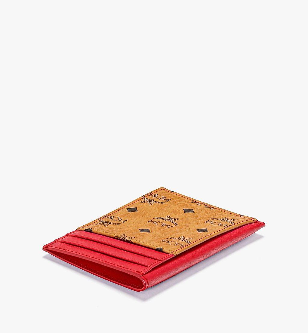 MCM Hochformatiges Kartenetui in Visetos Original Red MXABSVI03R4001 Noch mehr sehen 1
