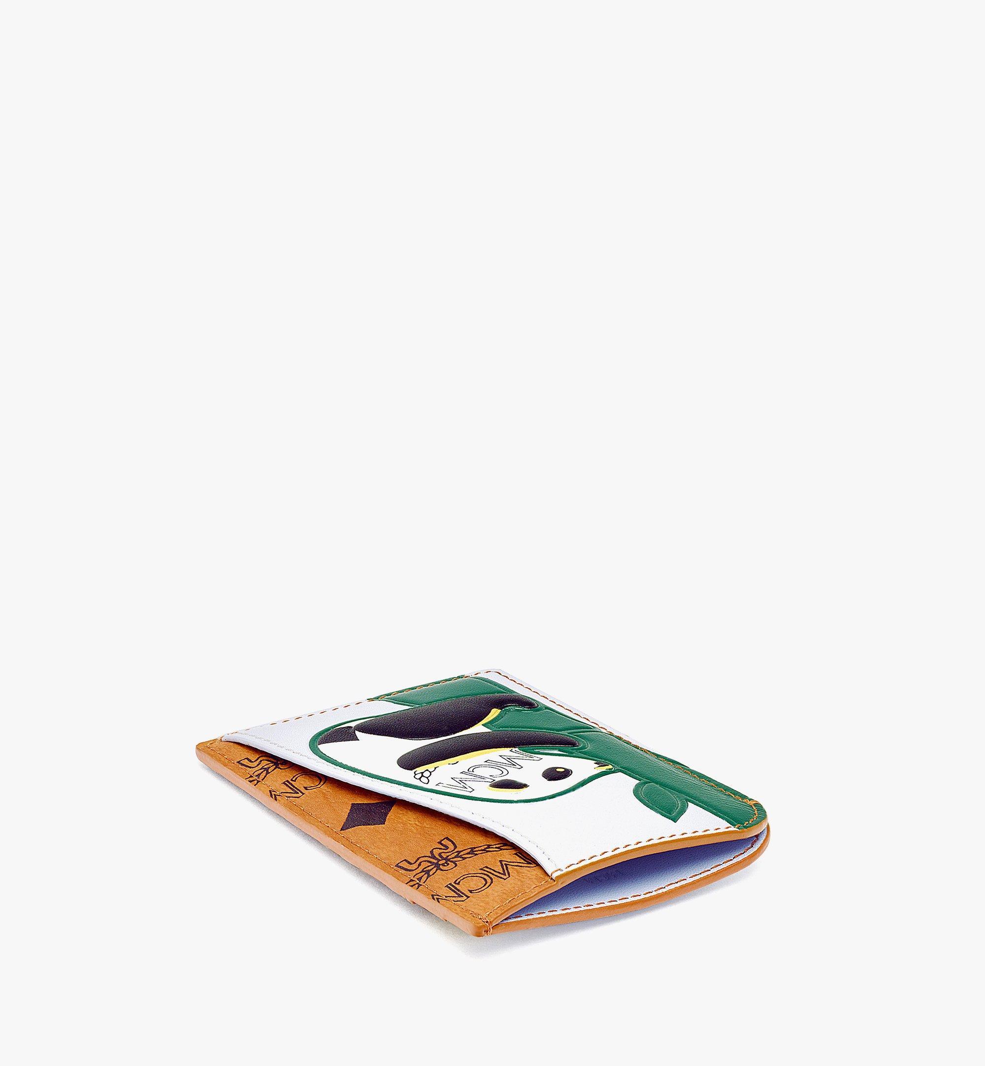 MCM MCM Zoo Hochformatiges Kartenetui mit Pandamotiv in Visetos Leder-Mix Cognac MXABSXL04CO001 Noch mehr sehen 1