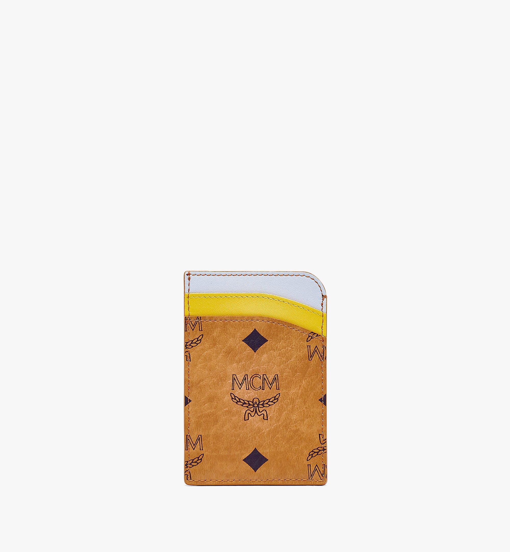 MCM MCM Zoo Hochformatiges Kartenetui mit Pandamotiv in Visetos Leder-Mix Cognac MXABSXL04CO001 Noch mehr sehen 2
