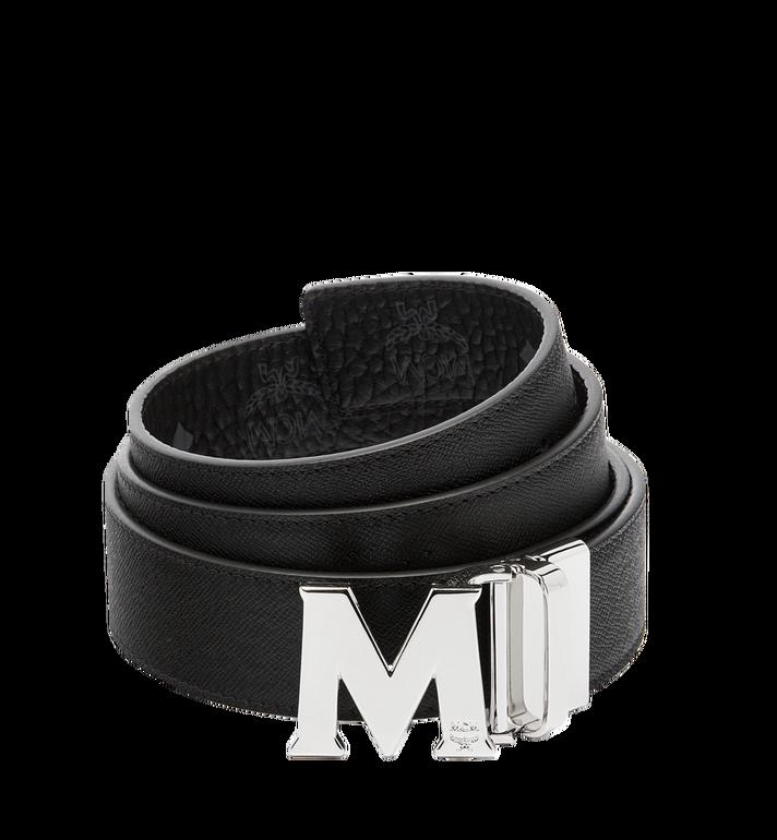 MCM 클라우스 리버서블 벨트 Black MXB6AVI02BK001 Alternate View 2