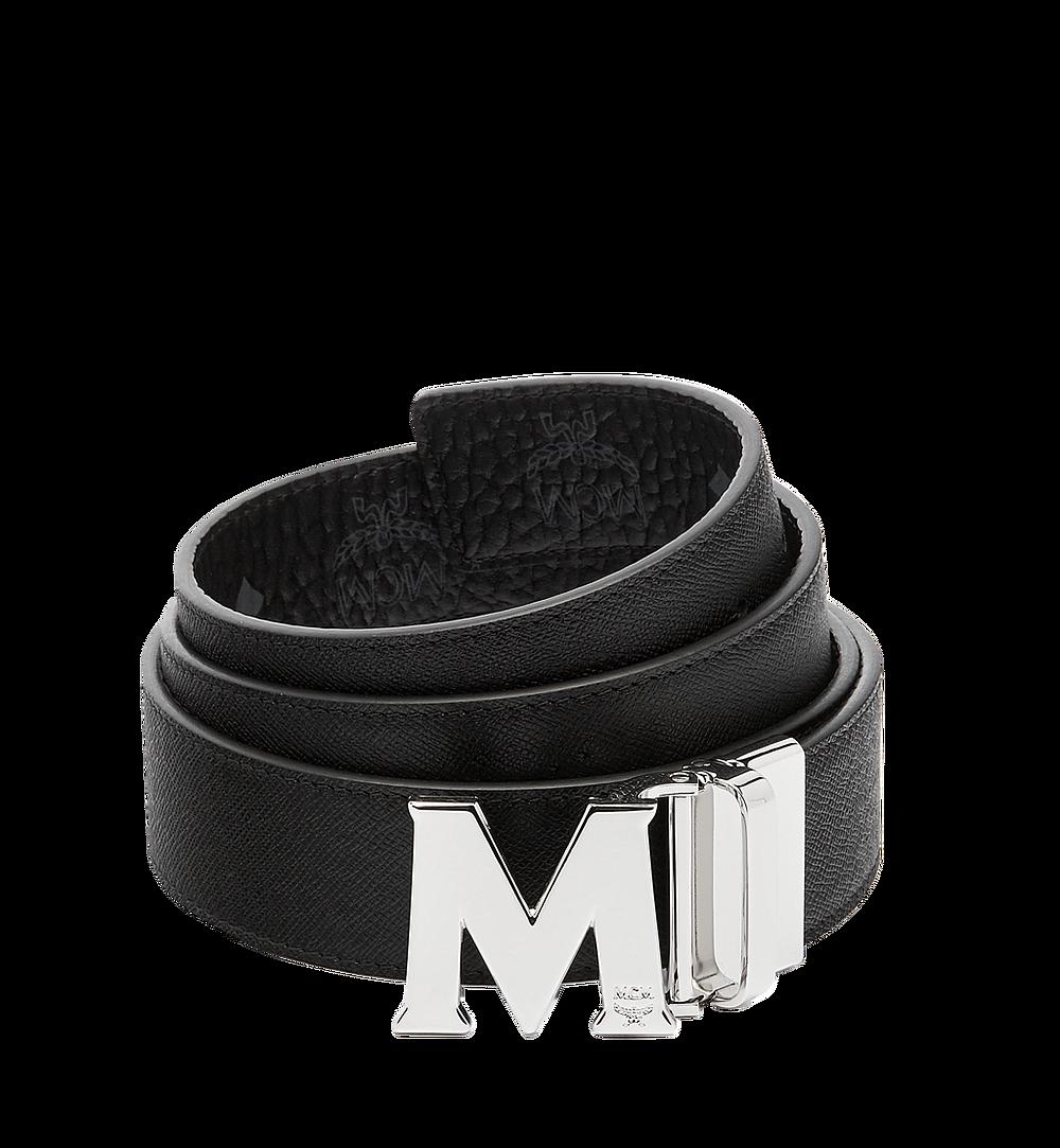 "MCM Claus M Visetos 1.5"" 雙面腰帶 Black MXB6AVI02BK001 更多視圖 1"