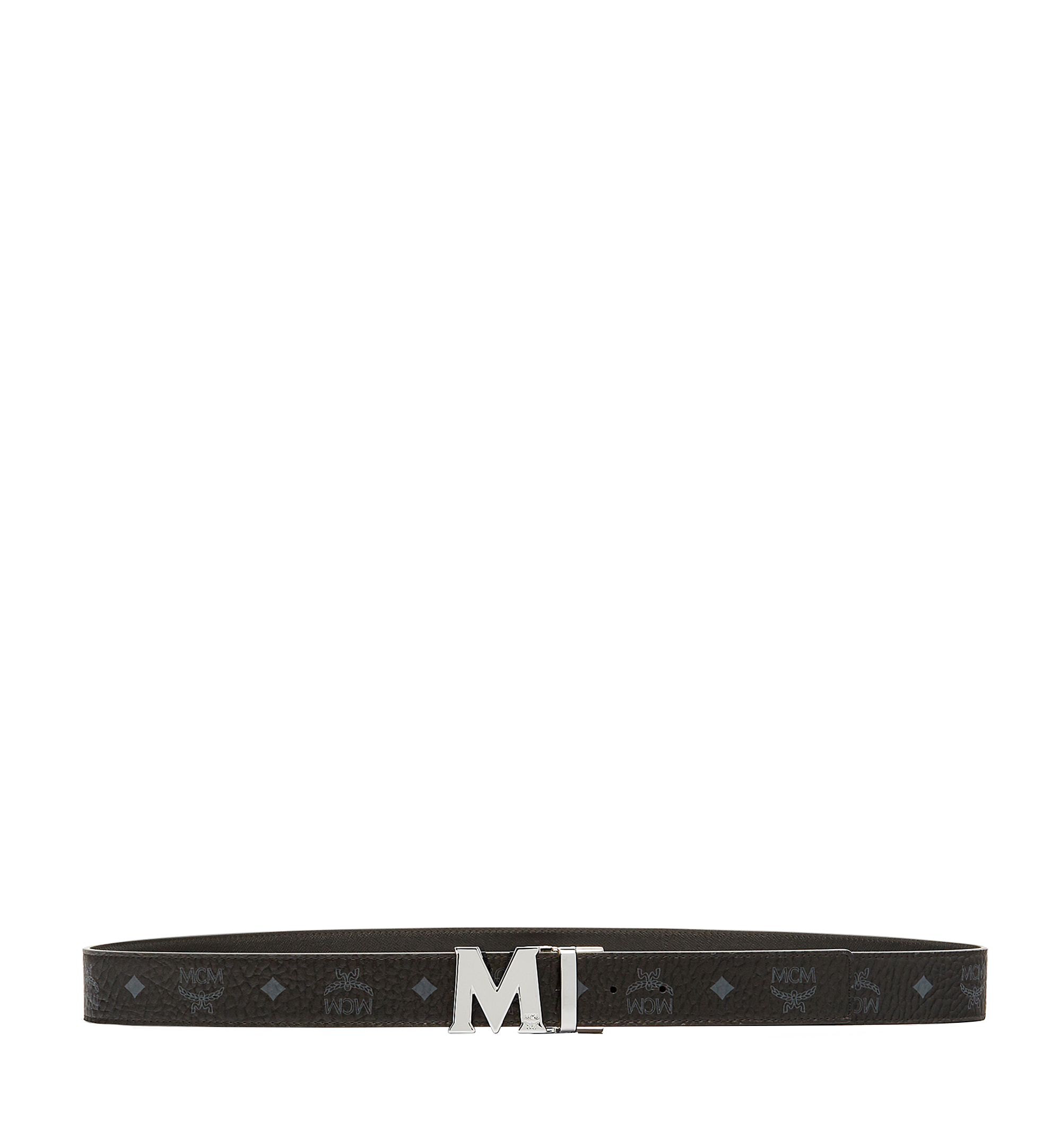 "MCM Claus M Visetos 1.5"" 雙面腰帶 Black MXB6AVI02BK001 更多視圖 2"