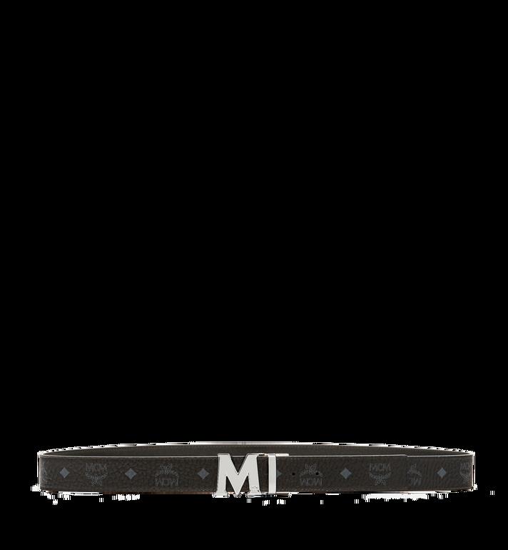 MCM 클라우스 리버서블 벨트 Black MXB6AVI02BK001 Alternate View 3