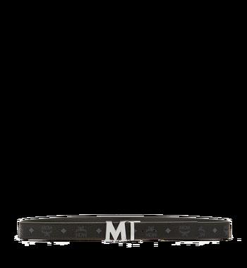 "MCM Claus M Reversible Belt 1.5"" in Visetos Black MXB6AVI02BK001 Alternate View 3"