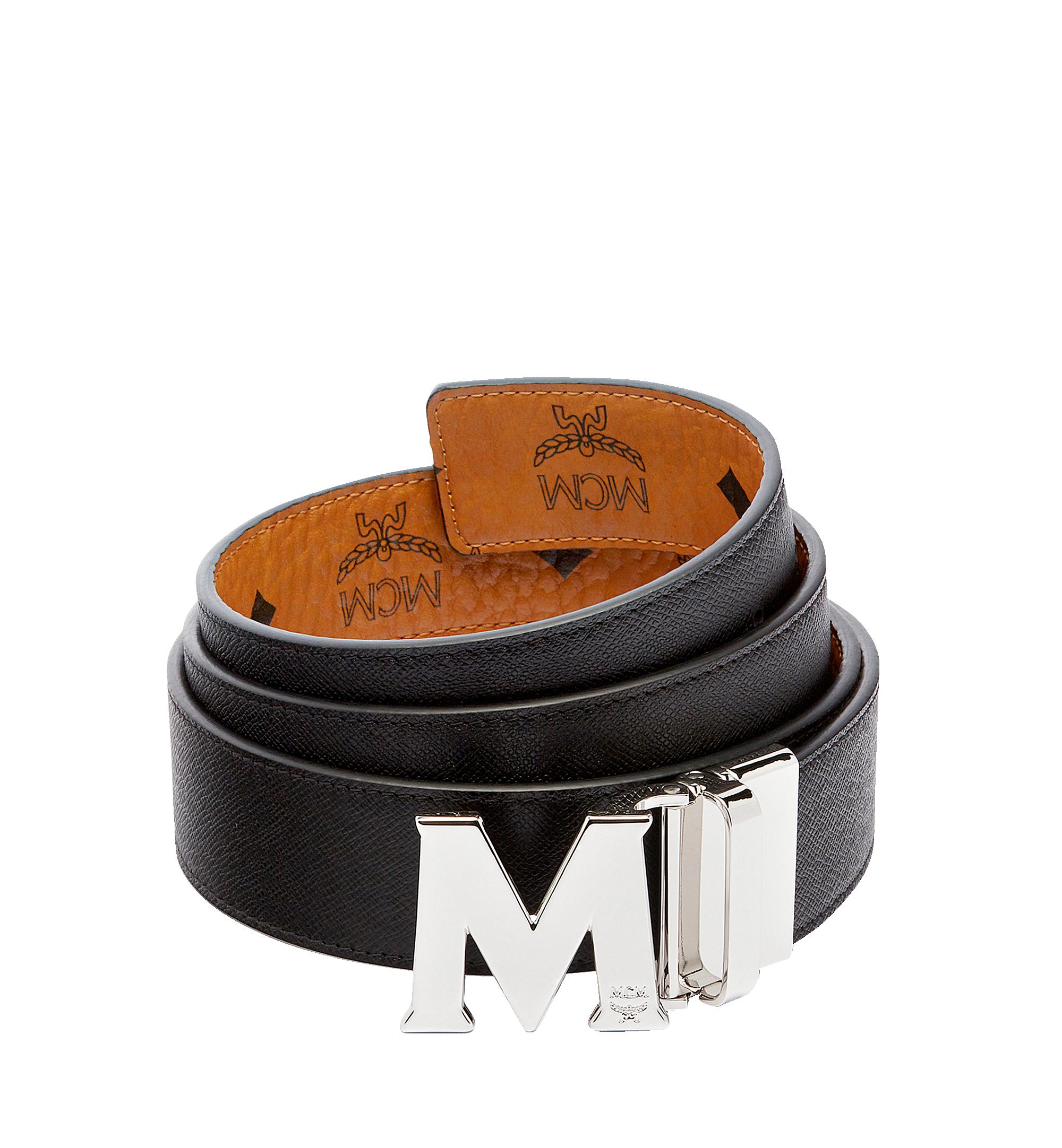 "MCM 〈クラウス〉リバーシブル ヴィセトス ベルト 1.5"" Cognac MXB6AVI02CO001 Alternate View 2"