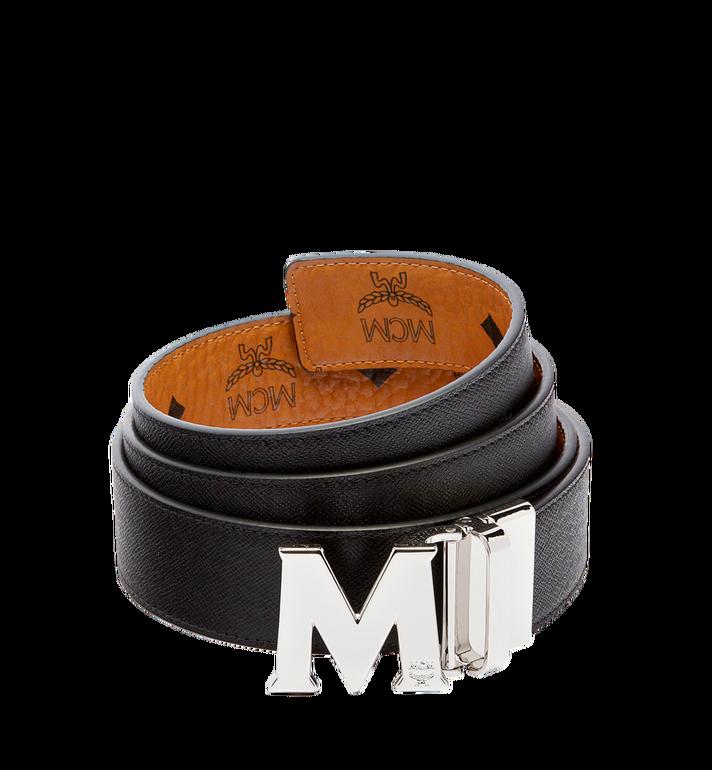 "MCM Claus M Reversible Belt 1.5"" in Visetos Cognac MXB6AVI02CO001 Alternate View 2"