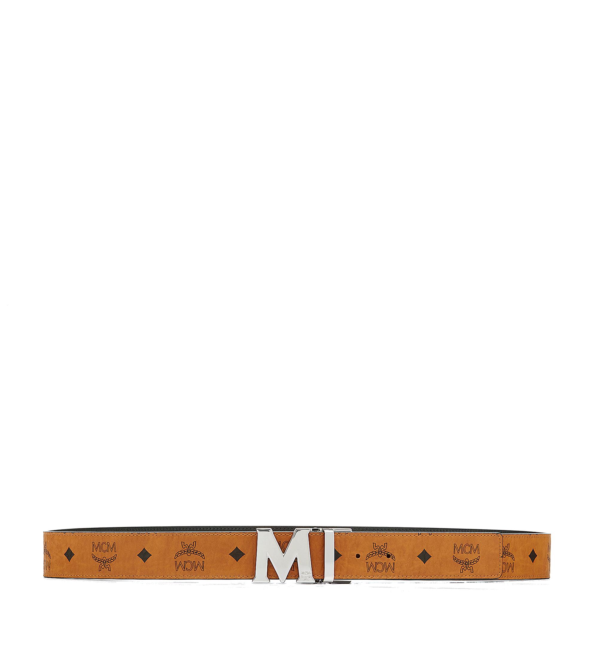"MCM 〈クラウス〉リバーシブル ヴィセトス ベルト 1.5"" Cognac MXB6AVI02CO001 Alternate View 3"