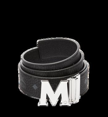 "MCM Claus M Reversible Belt 1.75"" in Visetos MXB6AVI03BK001 AlternateView"
