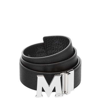 "MCM Claus M Reversible Belt 1.75"" in Visetos MXB6AVI03BK001 AlternateView2"