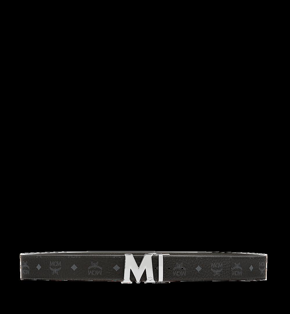 MCM Ceinture amovible Claus M 4,5cm en Visetos Black MXB6AVI03BK001 Plus de photos 2