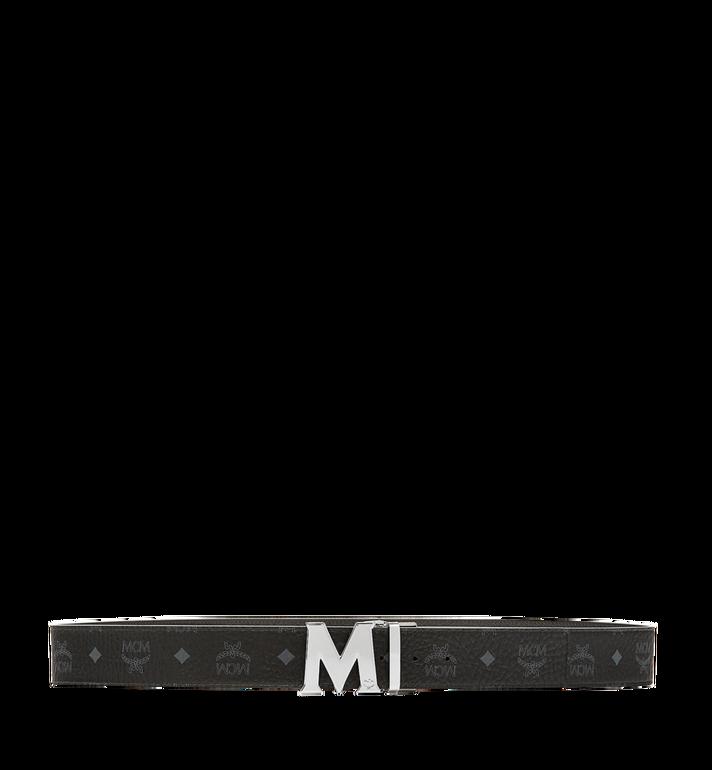 "MCM Claus M Reversible Belt 1.75"" in Visetos Black MXB6AVI03BK001 Alternate View 3"