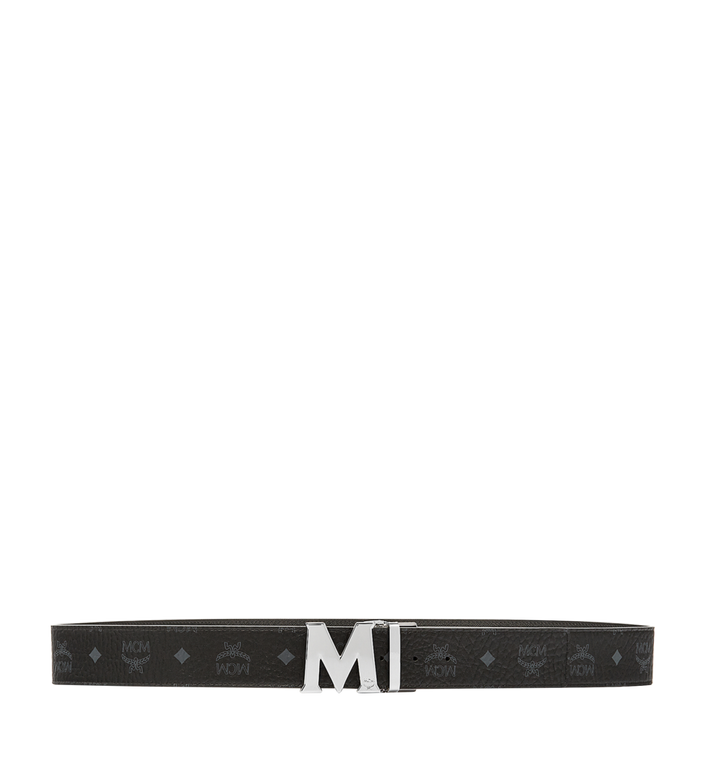 MCM Ceinture amovible Claus M 4,45 cm en Visetos Black MXB6AVI03BK001 Alternate View 3