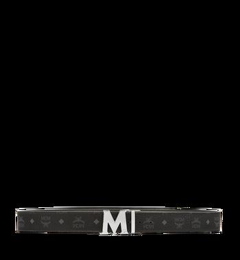 "MCM Claus M Reversible Belt 1.75"" in Visetos MXB6AVI03BK001 AlternateView3"