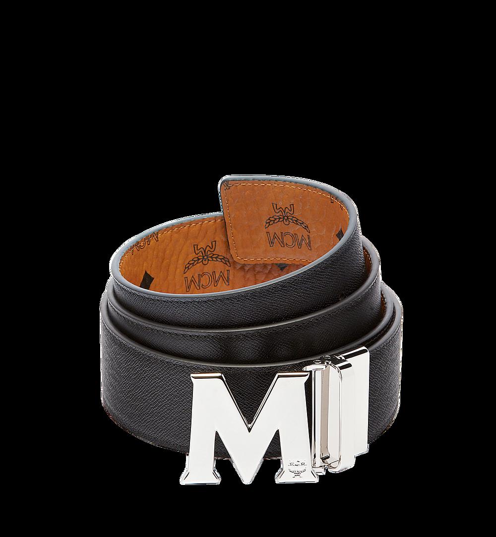 MCM Visetos 系列的 Claus M 1.75 吋可翻轉皮帶 Cognac MXB6AVI03CO001 更多視圖 1