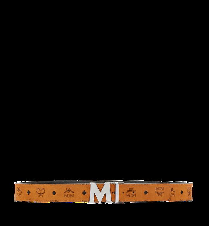 MCM Ceinture amovible Claus M 4,5cm en Visetos Cognac MXB6AVI03CO001 Alternate View 3