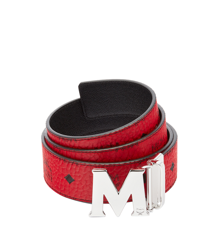 "MCM Claus M Reversible Belt 1.75"" in Visetos MXB6AVI03RU001 AlternateView"