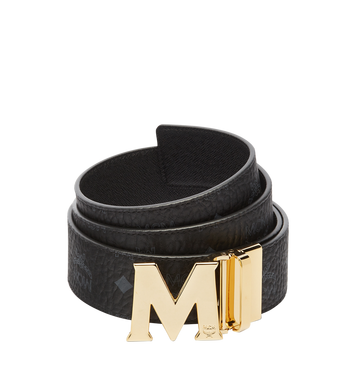 MCM Ceinture amovible Claus M 4,45 cm en Visetos Black MXB6AVI04BK001 Alternate View 1