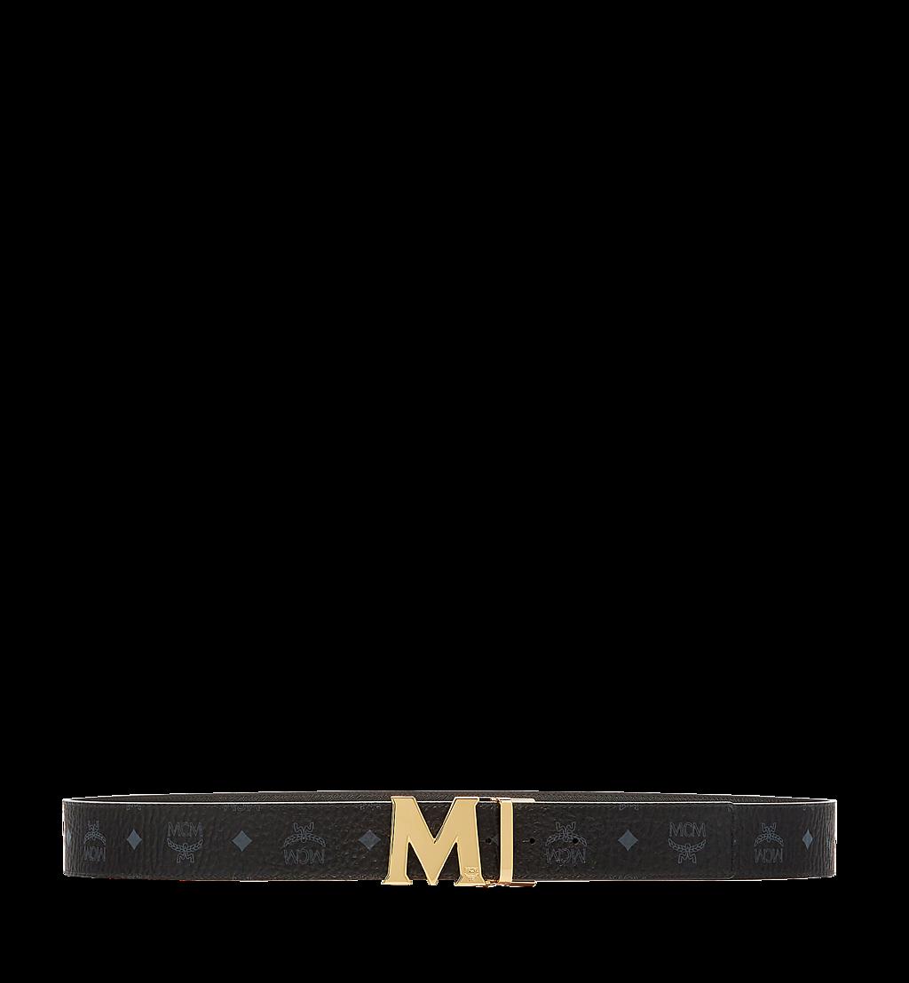 MCM Claus M Wendegürtel 4,5 cm in Visetos Black MXB6AVI04BK001 Noch mehr sehen 2
