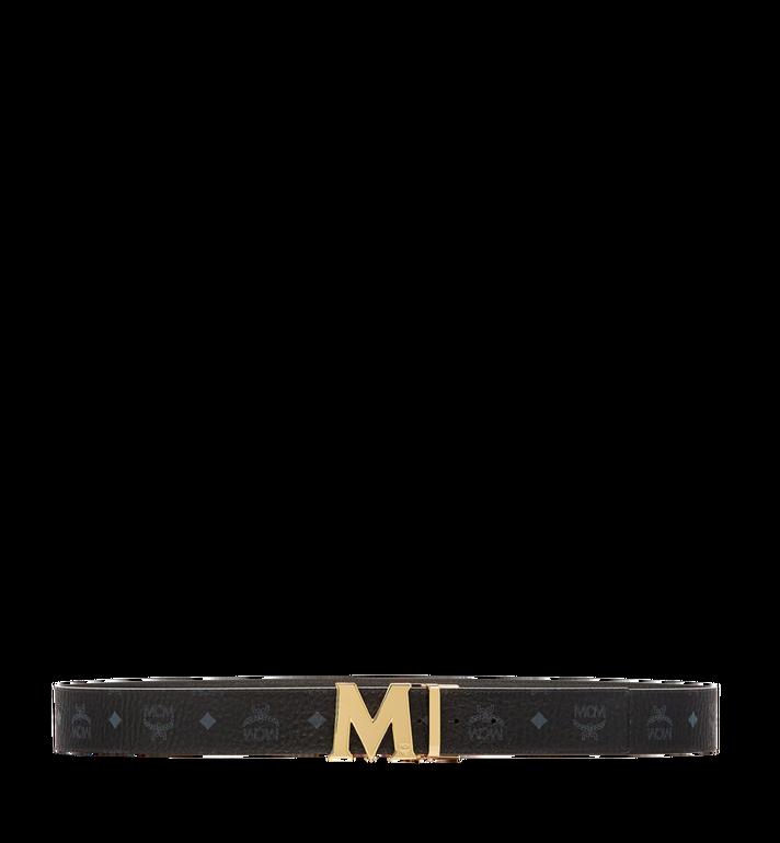 "MCM Claus Reversible Belt 1.75"" in Visetos Black MXB6AVI04BK001 Alternate View 3"