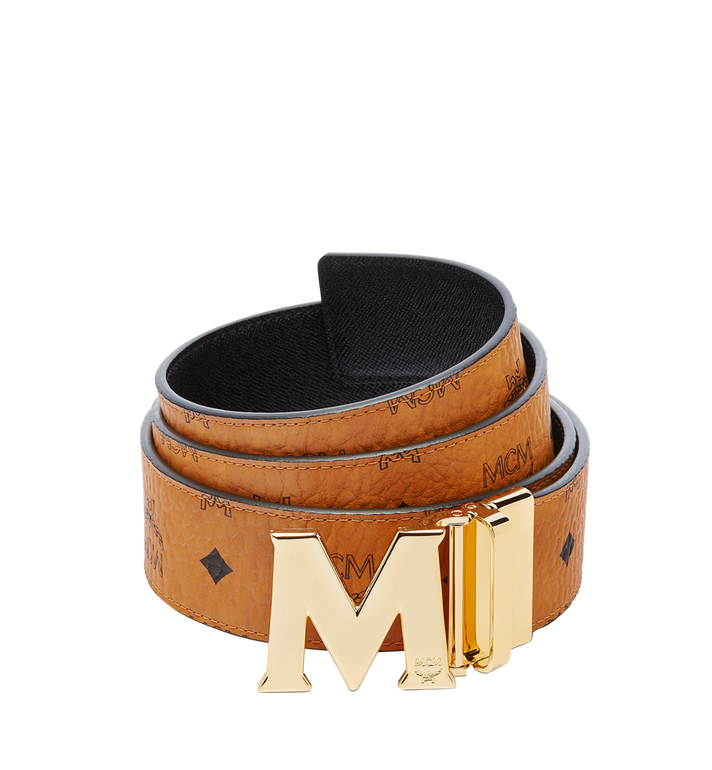 "MCM Claus M Reversible Belt 1.75"" in Visetos MXB6AVI04CO001 AlternateView"