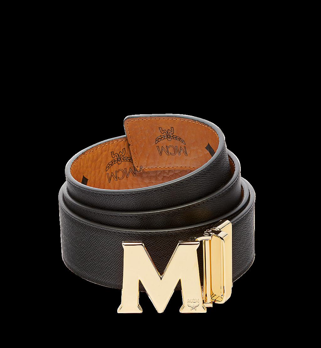 "MCM Claus M Reversible Belt 1.75"" in Visetos Cognac MXB6AVI04CO001 Alternate View 1"