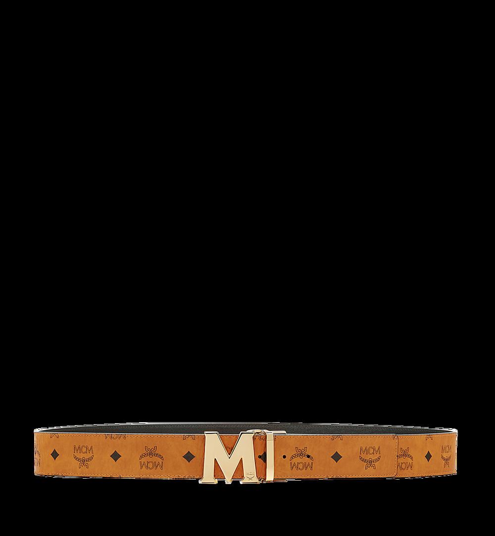 MCM Ceinture amovible Claus M 4,5cm en Visetos Cognac MXB6AVI04CO001 Plus de photos 2