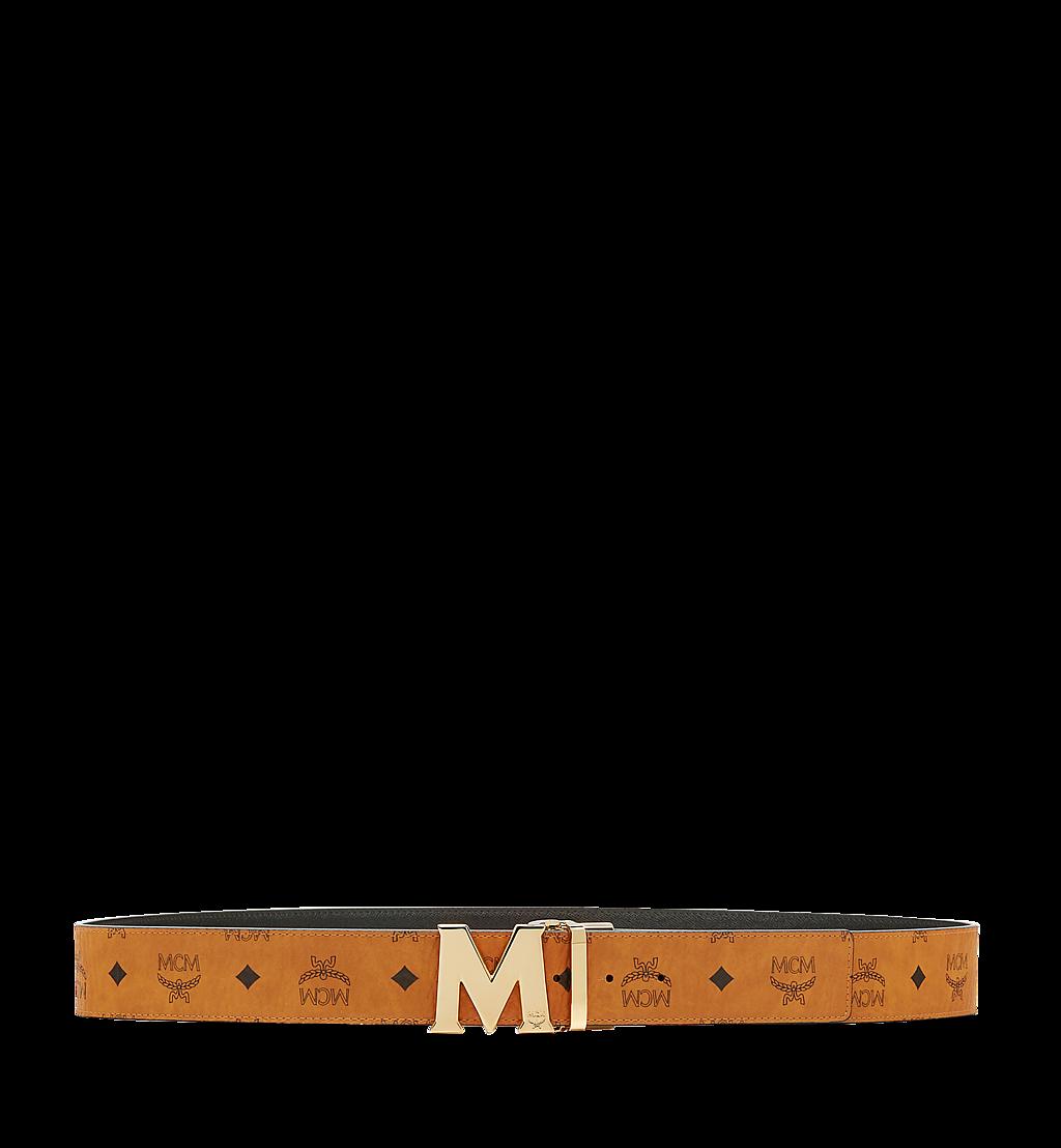 "MCM Claus M Reversible Belt 1.75"" in Visetos Cognac MXB6AVI04CO001 Alternate View 2"