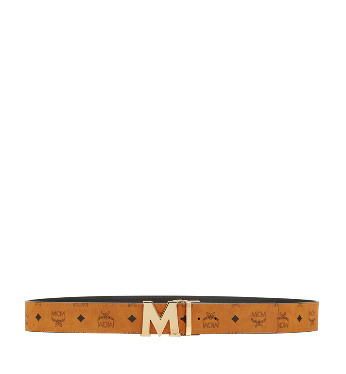 "MCM Claus M Reversible Belt 1.75"" in Visetos MXB6AVI04CO001 AlternateView3"