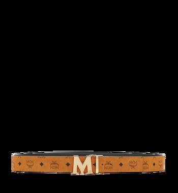 "MCM Claus M Reversible Belt 1.75"" in Visetos MXB6AVI04CO001 AlternateView3"